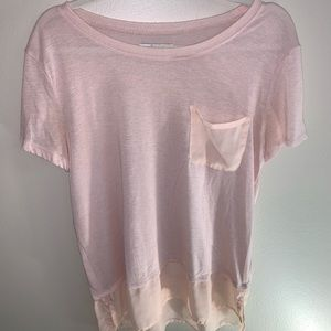 Pale pink Hollister relaxed tee
